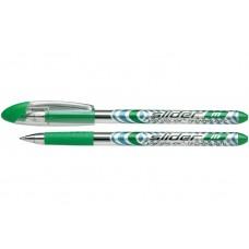 Ручка масляная Schneider SLIDER М, 0,7 мм, зеленая