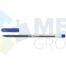 Ручка масляная Optima AQUA, 0,7 мм, синяя