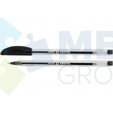 Ручка масляная Optima AQUA, 0,7 мм, черная