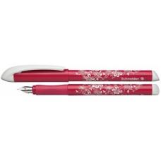 Ручка перьевая Schneider FANTASY, розово-белая