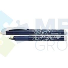 Ручка перьевая Schneider FANTASY, бело-синяя