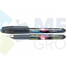 Ручка перьевая Schneider GLAM, голубая