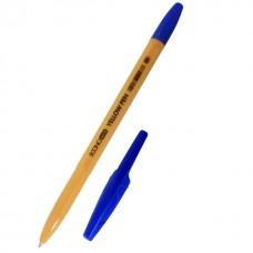 Ручка шариковая Economix YELLOW PEN, 0,5 мм, синяя
