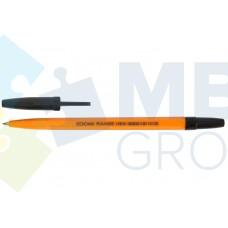Ручка шариковая Economix RANGE, 0,5 мм, черная