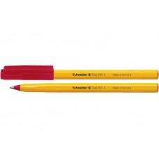 Ручка шариковая Schneider TOPS 505 F, 0,5 мм, красная