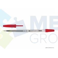 Ручка шариковая Economix STANDARD, 0,5 мм, красная