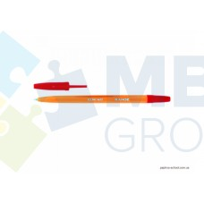 Ручка шариковая Economix RANGE, 0,5 мм, красная