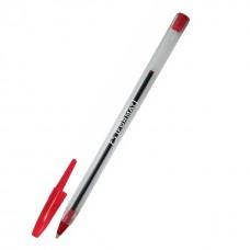 Ручка шариковая Format F5, 0,5 мм, красная