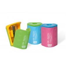 Точилка пластиковая с контейнером и клипом Cool for school Pastel, 1 лезвие