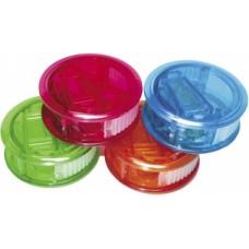 Точилка пластиковая с контейнером Economix