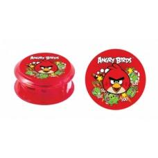 Точилка пластиковая с контейнером Cool for school Angry Birds, ассорти