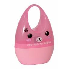 Точилка пластиковая с контейнером Cool for school Rabbit, 1 лезвие
