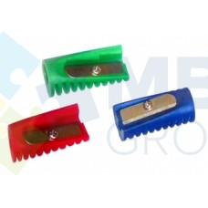 Точилка пластиковая Economix «Мини», 1 лезвие, ассорти