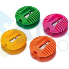 Точилка пластиковая Cool for school UFO, 1 лезвие, ассорти