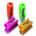 Точилка пластиковая Cool for school Rocket, 1 лезвие, ассорти