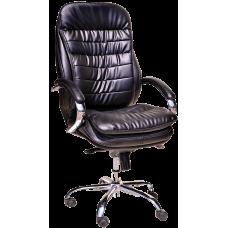 Кресло Примтекс Плюс Valencia Сhrome D-5, черный