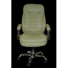 Кресло Примтекс Плюс Valencia Сhrome H-17, светло-бежевый