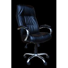 Кресло Примтекс Плюс Kometa Chrome Tilt D-5, черный