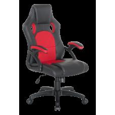 Кресло Примтекс Плюс Online B-6, черный с красным