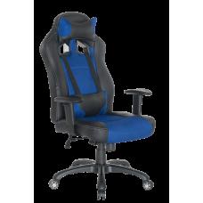 Кресло Примтекс Плюс Drift B-13, черный с синим
