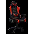 Кресло Примтекс Плюс Platinum B-6, черный с красным