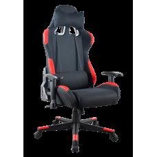 Кресло Примтекс Плюс Driver B-6, черный с красным