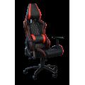 Кресло Примтекс Плюс Premium B-6, черный с красным