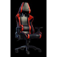 Кресло Примтекс Плюс Prime B-6, черный с красным