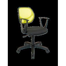 Кресло Примтекс Плюс Optima GTP С-11/M-03, черный с зеленым