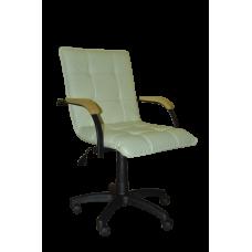 Кресло Примтекс Плюс Stella GTP Black Wood 1.007 S-82, светло-бежевый