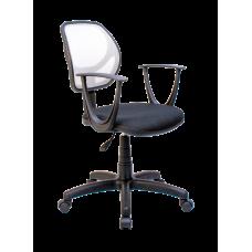 Кресло Примтекс Плюс Optima GTP С-11/M-02, черный с серым