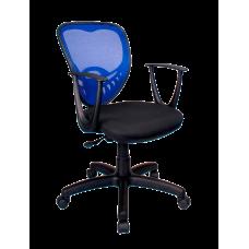 Кресло Примтекс Плюс Ariel GTP С-11/M-31, черный с синим