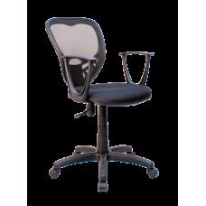 Кресло Примтекс Плюс Ariel GTP С-11/M-01, черный с белым