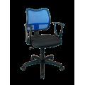 Кресло Примтекс Плюс Active GTP С-11/M-31, черный с синим