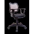 Кресло Примтекс Плюс Active GTP С-11/M-01, черный с белым