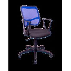 Кресло Примтекс Плюс Connect GTP С-11/M-31, черный с синим