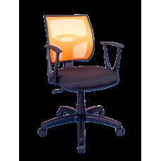 Кресло Примтекс Плюс Line GTP С-11/M-38, черный с желтым