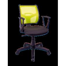 Кресло Примтекс Плюс Line GTP С-11/M-03, черный с зеленым