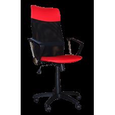 Кресло Примтекс Плюс Ultra C-16/S-3120, красный с черным