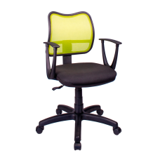 Кресло Примтекс Плюс Active GTP С-11/M-03, черный с зеленым