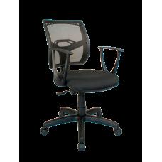 Кресло Примтекс Плюс Line GTP С-11/M-01, черный с белым
