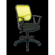 Кресло Примтекс Плюс Connect GTP С-11/M-03, черный с зеленым