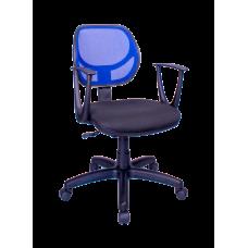Кресло Примтекс Плюс Optima GTP С-11/M-31, черный с синим