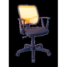 Кресло Примтекс Плюс Connect GTP С-11/M-38, черный с желтым
