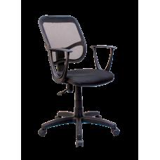 Кресло Примтекс Плюс Connect GTP С-11/M-01, черный с белым