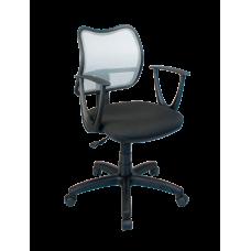 Кресло Примтекс Плюс Active GTP С-11/M-02, черный с серым