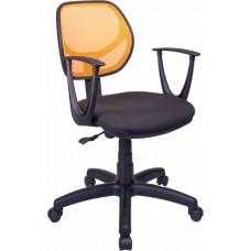 Кресло Примтекс Плюс Optima GTP С-11/M-38, черный с желтым