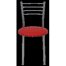 Стул Примтекс Плюс 1022 alum S-3120, красный