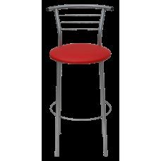 Стул барный Примтекс Плюс 1011 Hoker alum S-3120, красный
