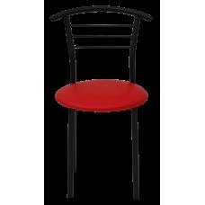 Стул Примтекс Плюс 1011 black S-3120, красный